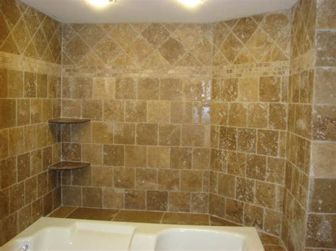 fresh travertine tile small bathroom 8901