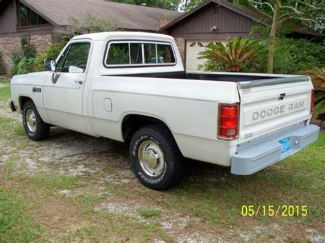 1984 dodge truck 1984 dodge ram d100 1 2 ton shortbed truck survivor