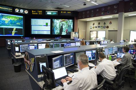 nasa mission room the second a view from the centre luca parmitano