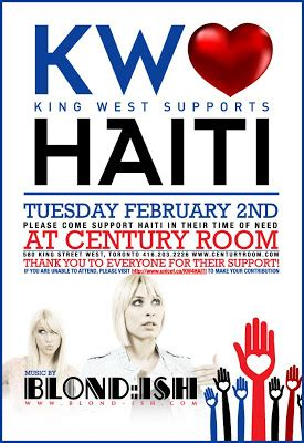 king west supports haiti charity event streetwear