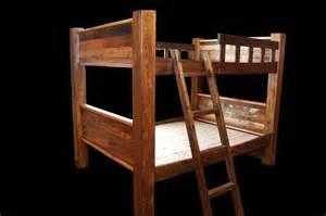 rustic bunk beds bradley s furniture etc rustic log and barnwood bunk beds
