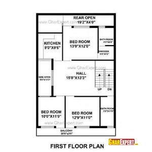 1 Gaj In Sq by House Plan For 30 By 50 Plot Plot Size 167