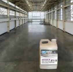 concrete floor sealer aquathane water base