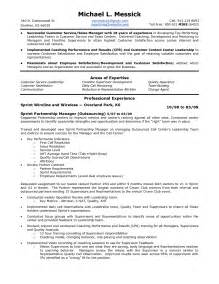 customer service resume sle competencies customer service resume