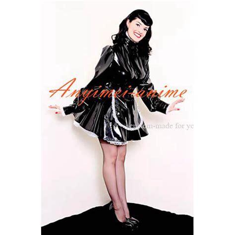 locking sissy clothing online buy wholesale pvc maid dress from china pvc maid
