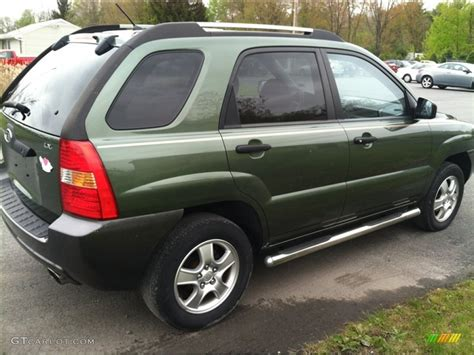 Green Kia Sportage 2006 Royal Jade Green Kia Sportage Lx 64611828 Photo 5