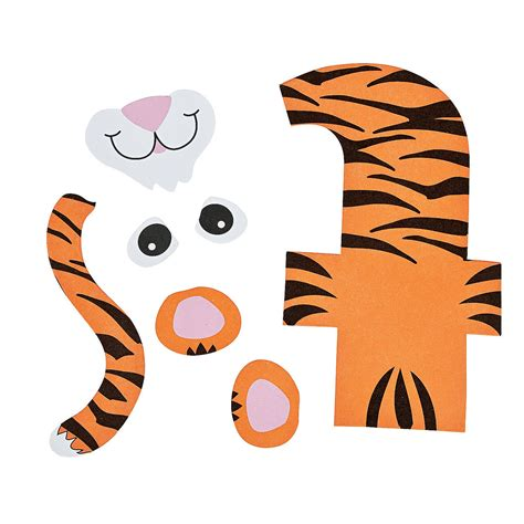 t is for tiger letter t craft kit oriental trading