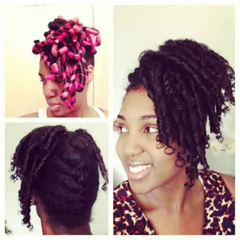 Flexi Rod Hairstyles by Flexi Rod Updo Black Hair Information