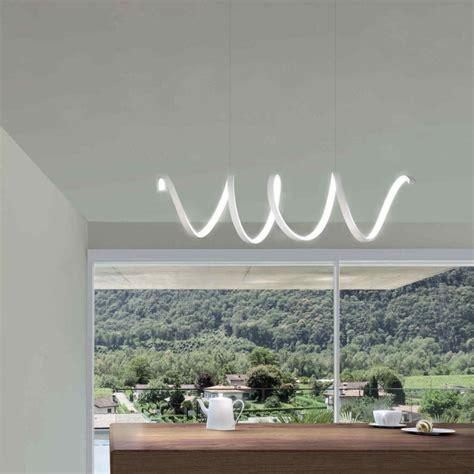 illuminazione da cucina sikrea lea s lada moderna da cucina o soggiorno a led