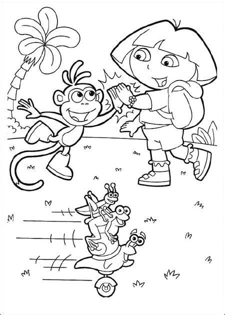 dora thanksgiving coloring page 10 free dora coloring pages for kids gt gt disney coloring pages