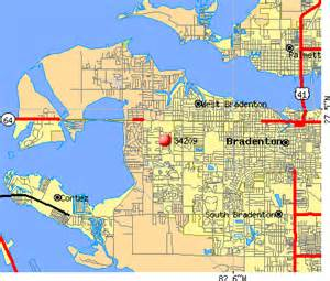 bradenton florida map