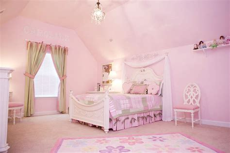 pretty girls room pretty in pink little girls bedroom traditional kids