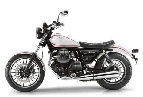 latest motocross new moto guzzi v9 roamer and bobber feature 850cc v twin