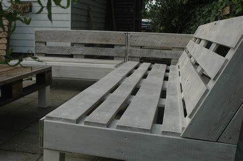 pallet bank bouwtekening loungebank van pallets voordemakers nl