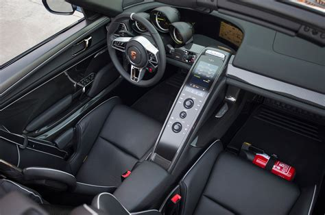 porsche spyder 2015 interior 2015 porsche 918 spyder interior top view photo 8
