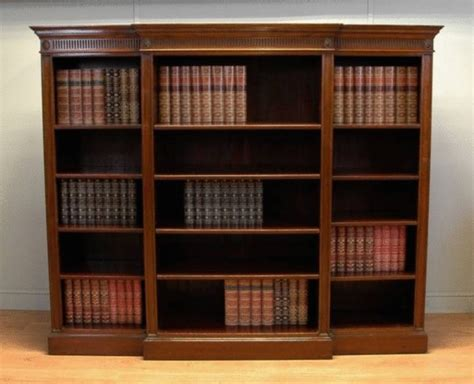 library bookshelves for sale large mahogany antique open library bookcase c