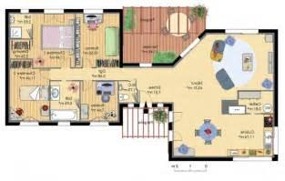 plan 4 chambres plain pied gratuit chambre