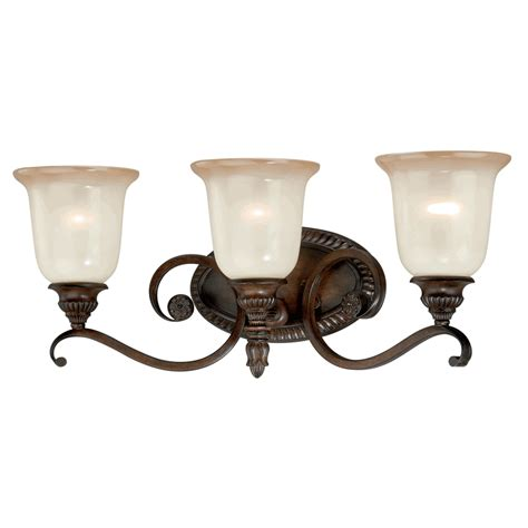 Vintage Vanity Light Vintage Carved 3 Light Vanity L