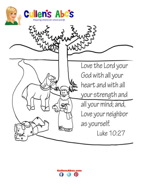 coloring page love your neighbor as yourself bible key point coloring page coloring page love your