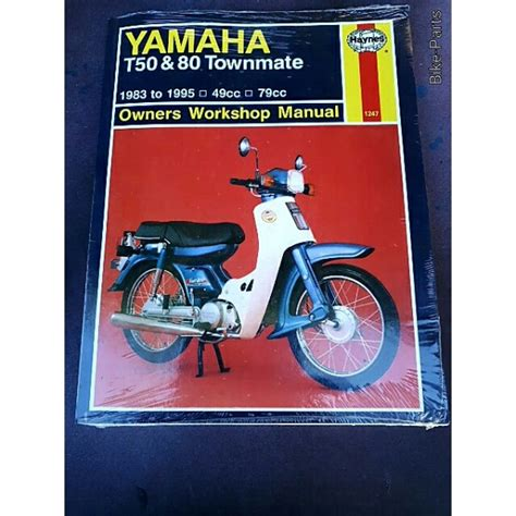 Yamaha T80 Owners Workshop Manual Lme Motorcycles