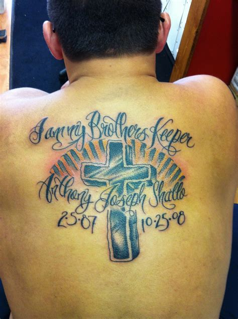 i am my brothers keeper tattoo i am my brothers keeper personal picture picture