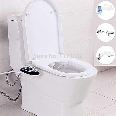 bidet shower luxurious hygienic no electricity smart toilet seat bidet