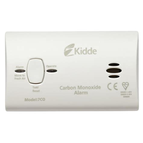 Carbon Monoxide Smoke Alarm Detector Detektor Co2 detektor ogljikovega monoksida kidde 7co enaa