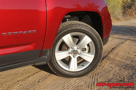 Jeep Compass Tires Review 2014 Jeep Compass Latitude Road
