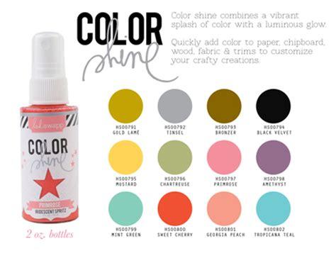 Heidi Swapp Color Shine Mist Spray Mint Green heidi swapp color shine 28 images snc s crop mmunity