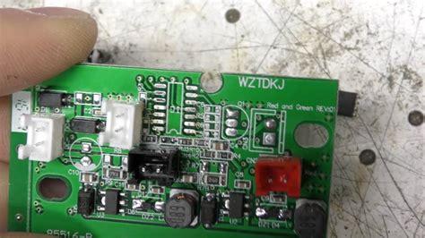 shower laser light repair crappy quot laser shower quot projector teardown