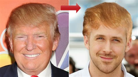 donald trumps hairstyle beautiful hairstyles try on donald trump s hair with our hollywood makeover