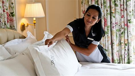 Live In Room Attendant by 8 Things To About Your Hotel Pillow Cnn