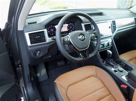 volkswagen atlas interior volkswagen atlas 2018 essais routiers actualit 233 s
