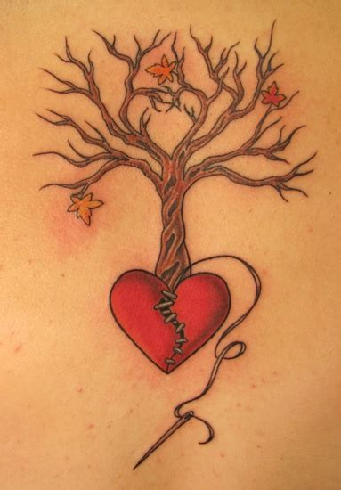 heart tree tattoo 18 best broken tatoo images on broken