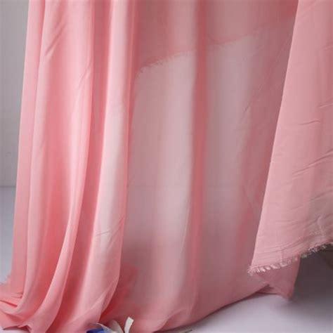 pink chiffon fabric sheer bridal wedding dress lining