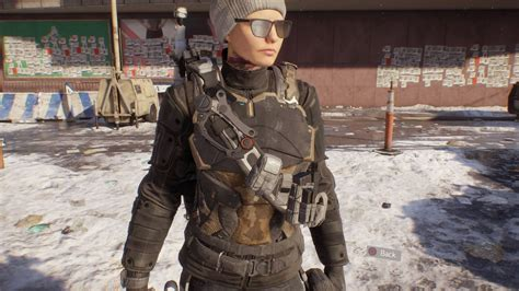 Jaket Hoodie Tom Clancys The Division 2 Roffico Cloth riot shirt vanity item 183 the division field guide