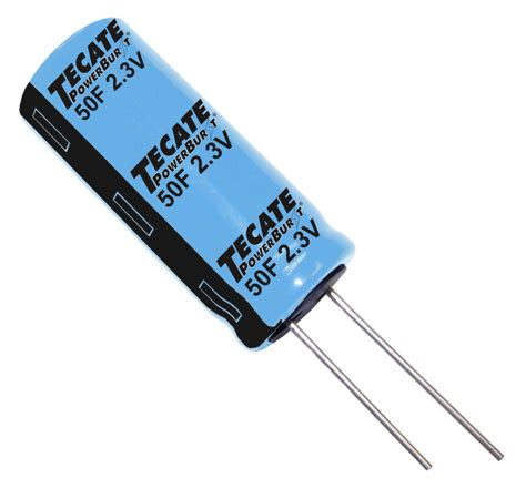 ultracapacitor news 2015 tecate s powerburst tple series ultracapacitors now ul 810a recognized