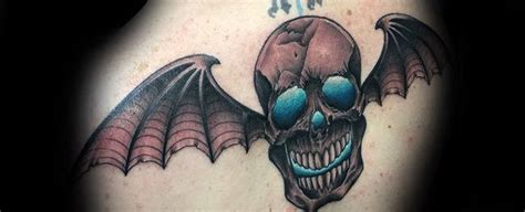 deathbat tattoo designs 30 deathbat designs for winged skull ink ideas