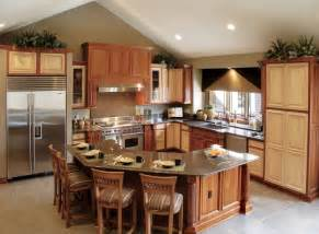 traditional shaped kitchen layout idea island ideas fresh contemporary luxury interior
