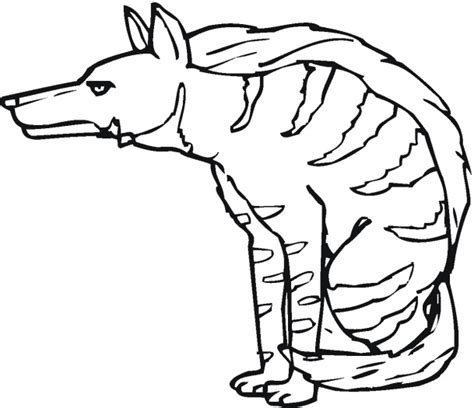 scary lion coloring page animal printable scary hyena coloring sheet