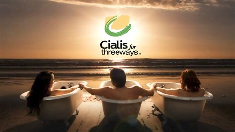 why the bathtubs in cialis commercials cialis needs a new ad caign