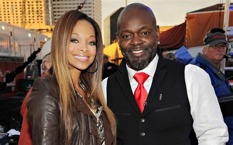 Patricia Southall and Emmitt Smith   Celebrities at Super