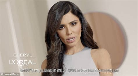 cheryl talks covering up her grey hair in l oreal campaign