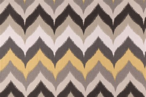 cotton drapery fabric gantt in taupe printed cotton drapery fabric by mill creek