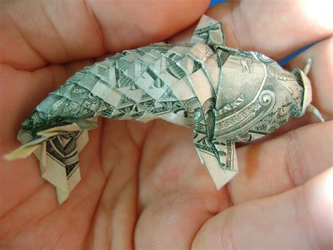Origami Koi Fish - currency koi colossal