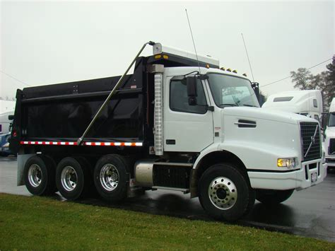 volvo dump truck volvo dump trucks in indiana for sale 39 used trucks from