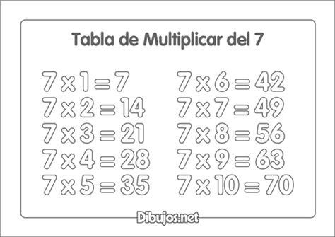 imagenes para colorear tablas de multiplicar dibujos de las tablas de multiplicar para imprimir y