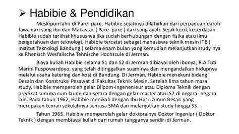 biografi pendidikan habibie biografi bj habibie