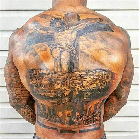 tattoo jesus cristo nas costas jogador australiano de r 250 gbi tatua jerusal 233 m nas costas