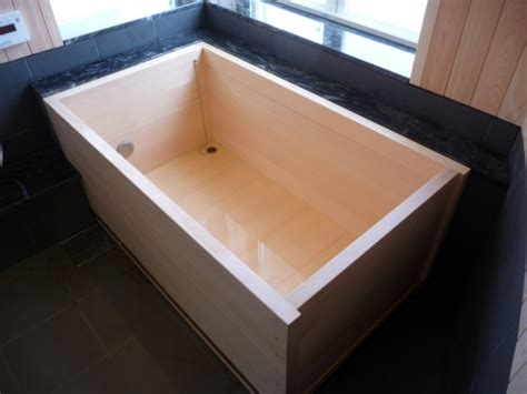 hinoki bathtub custom tubs japanese ofuro bathtubs by bartok design